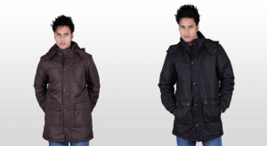Parka jackets for men