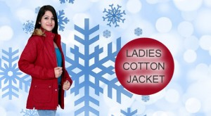 Ladies_Cotton_FS_Red_Jacket
